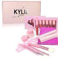 Набор подарочный Kylie розовый 1620 реплика - 140134