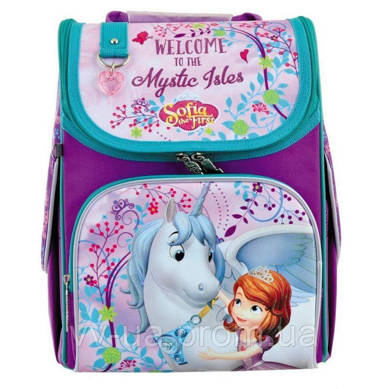 Рюкзак школьный каркасный 1 Вересня H-11 Sofia (556150)
