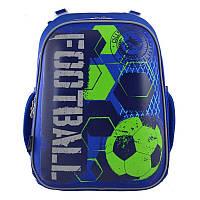 Рюкзак школьный каркасный 1 Вересня H-12 Football (555946), фото 1