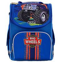 Рюкзак школьный каркасный Smart PG-11 Big Wheels (555971)