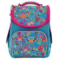 Рюкзак школьный каркасный Smart PG-11 Funny owls (555930)