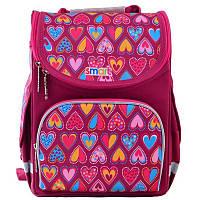 Рюкзак школьный каркасный Smart PG-11 Hearts Style (555920), фото 1