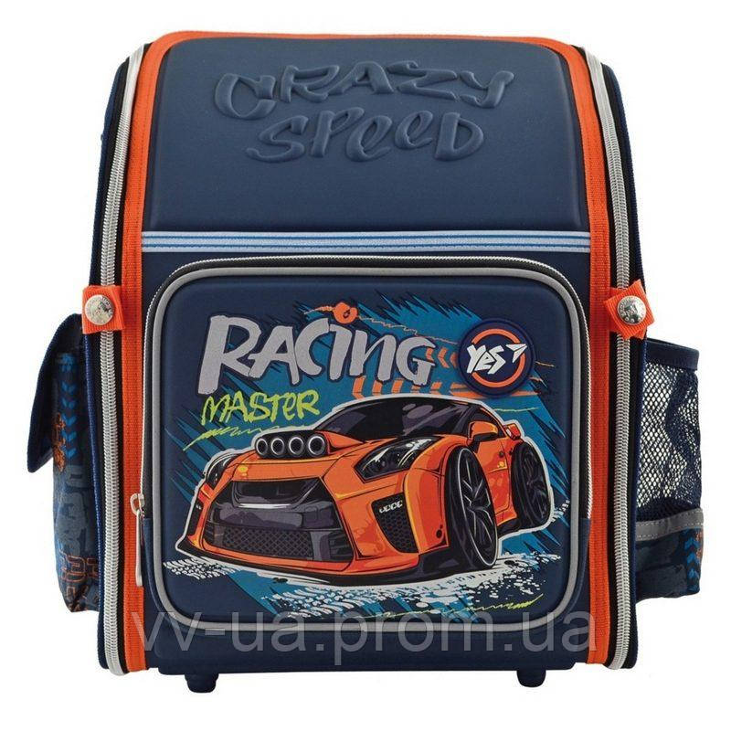 Рюкзак школьный каркасный Yes H-18 Racing (556321)