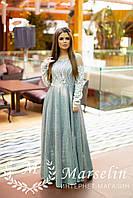 Женское роскошное платье в Пол