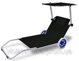 Лежак на колесах