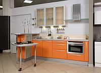 Мебель для кухни Киев, кухни с пленочными фасадами на заказ, фото 1