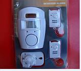 Сенсорна сигналізація з датчиком руху Alarm з пультом 2 шт, фото 4
