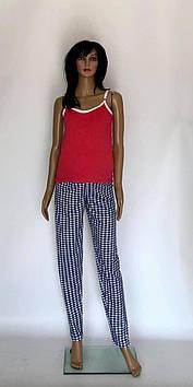 Пижама комплект топ и брюки для беременных и кормящих мам