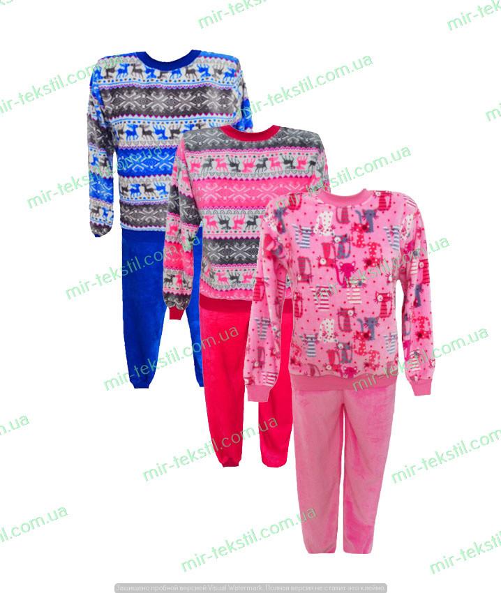 Мир Текстиля / Пижама женская теплая, женская пижама махровая