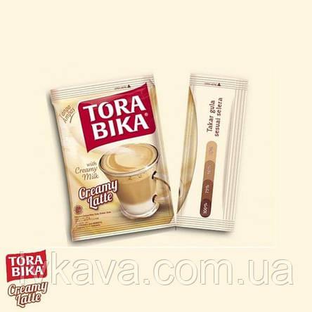 Кофейный напиток Капучино Tora Bika Cremy Latte, 25 гр х 20 шт, фото 2