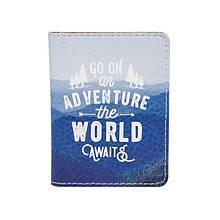 Обложка на ID паспорт пластиковый Go on NEW