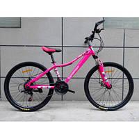Спортивный велосипед TopRider-900 26 дюймов. Розовый., фото 1