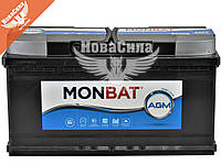 АКБ AGM 95-А/Ч (Monbat) Series D (R+) 860A   GM90L5K0_1 95 R M