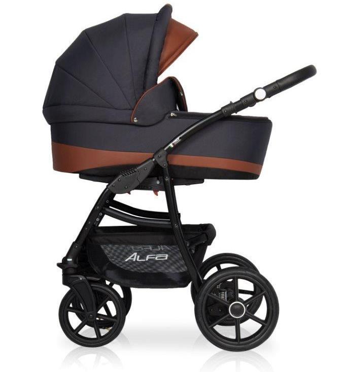 2221af9ab Детская коляска универсальная 2 в 1 Riko Basic Alfa Ecco 03 (Рико Альфа,  Польша)