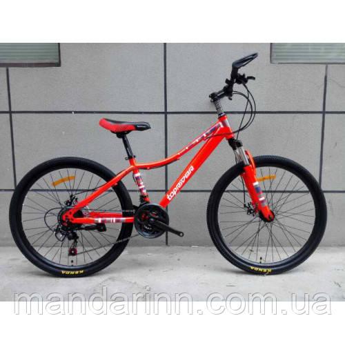 Спортивный велосипед TopRider-900 26 дюймов. Красный.