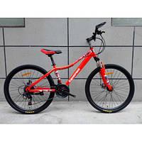 Спортивный велосипед TopRider-900 26 дюймов. Красный., фото 1