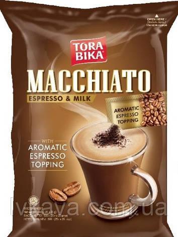 Кофейный напиток Капучино Tora Bika Macchiato Espresso&Milk, 25 гр х 20 шт, фото 2