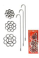 Набор форм для Хвороста из жидкого теста Цветы (три формы с ручками)