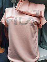 Модный женский костюм  футболка+штаны