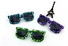 Піксельні сонячні окуляри Майнкрафт мозайка
