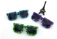 Піксельні сонячні окуляри Майнкрафт мозайка, фото 1