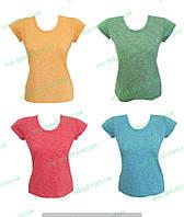 Футболка женская однотонная,женская одежда от производителя,комсомольский женский трикотаж,коттон