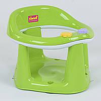 """Детское сиденье для купания на присосках BM-03606 """"BIMBO"""", цвет САЛАТОВЫЙ"""