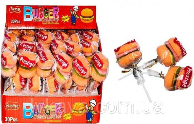 Маршмеллоу  Burger Marshmallow POP Prestige, 30 шт х 15 гр, фото 2
