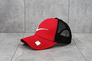 Кепка тракер с сеточкой Nike (красный)