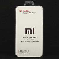 Защитное стекло для Xiaomi Redmi 4X полноэкранное черное Box, фото 1