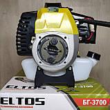 Бензокоса Eltos БГ-3700 мотокоса, фото 5