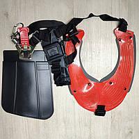Ремень двухплечевой рюкзачного типа для мотокосы.
