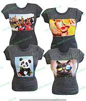 Футболка женская сублимация,комсомольский женский трикотаж,женская одежда от производителя,вискоза