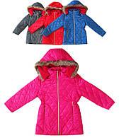 Детская куртка для девочки стеганая демисезонная,турецкая детская одежда,верхняя детская одежда,плащевка