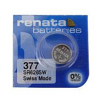 Батарейка часовая Renata 377 SR626 Silver oxide G4