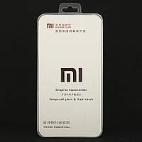 Защитное стекло для Xiaomi Redmi Note 4 / Note 4 Pro полноэкранное черное box