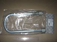 ⭐⭐⭐⭐⭐ Стремянка рессоры 128x24x300 BPW ( оцинкованная , с гайкой и гровером, резьба М24х2,0) (RIDER, стандарт)  RD 12824300-24-2