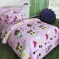 Детское постельное белье полуторное односпальное TM Krispol 150*220 куклы лол 167470 с