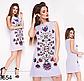 Модное женское летнее платье без рукавов (джинс) 829653, фото 2