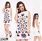 Модное женское летнее платье без рукавов (джинс) 829653, фото 4
