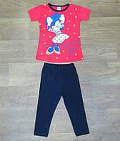 Летний костюм для девочки турецкий,детская одежда из Турции,интернет магазин детской одежды,коттон