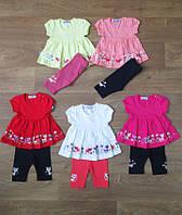 Летний костюм для девочки,детская одежда из Турции,турецкий детский трикотаж,интернет магазин,коттон