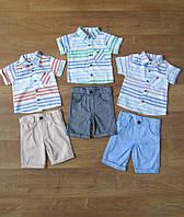 Костюм летний для мальчика с рубашкой турецкий,интернет магазин,детская одежда Турция,лен