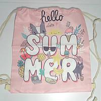 Пляжная сумка летний рюкзак опт и розница