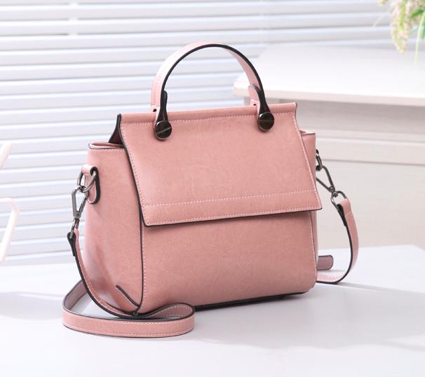 Женская сумка классическая Валенти трапеция Розовый