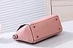 Женская сумка классическая Валенти трапеция Розовый, фото 5