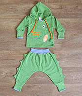 Набор для новорожденного Динозавр теплый,Костюм для новорожденных,одежда для новорожденных,начес