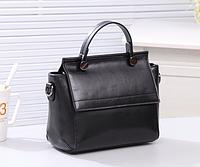 Женская сумка классическая Валенти трапеция Черный