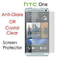 Защитная пленка для HTC ONE M7, глянцевая /накладка/наклейка /штс