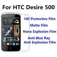 Захисна плівка для HTC Desire 500, матовий /накладка/наклейка /штс